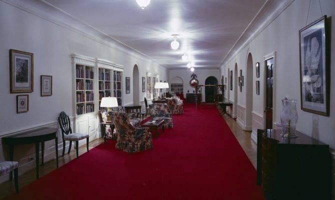 Third Floor Center Hall White House