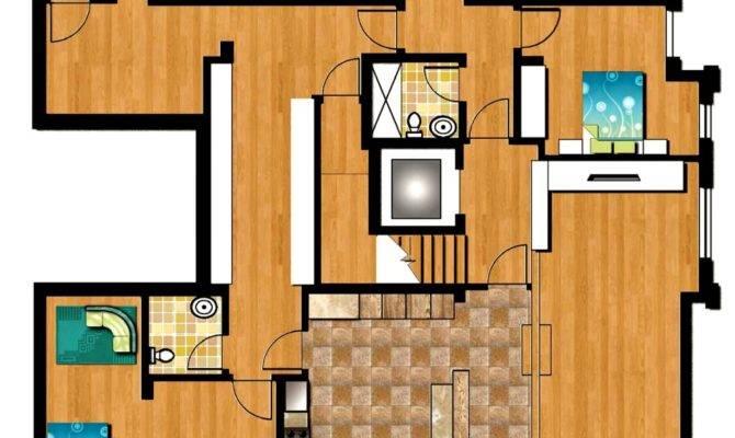 Third Floor Plan Psd Amux Designs