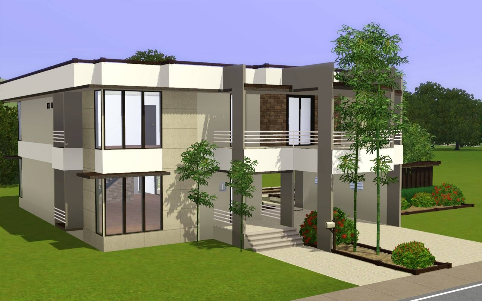 sims 3 modern house design inspiration house plans