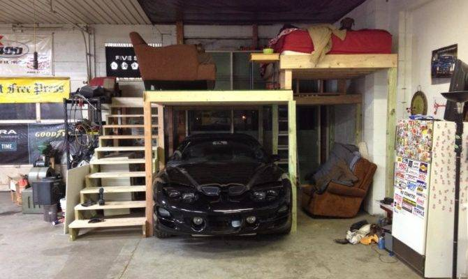 Thread Garage Loft Apartment Build