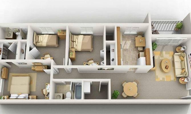 Three Bedroom Apartment Blacksburg
