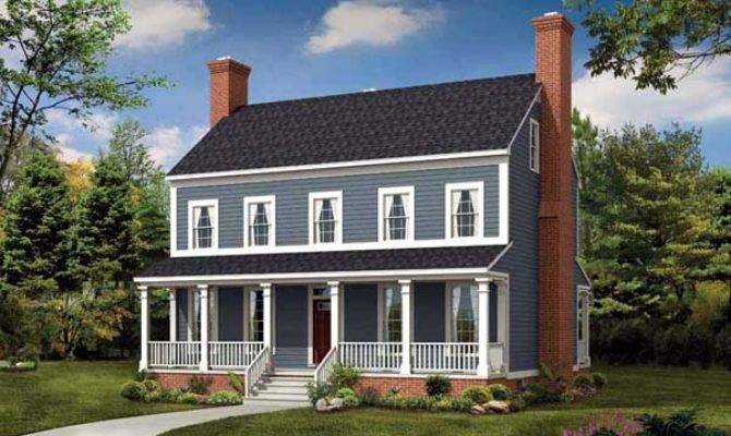 Three Bedroom Country House Plan Favething