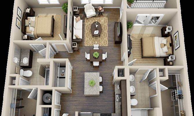 Three Bedroom Flat Layouts Google Search Houses