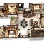 Three Bedroom Floor Plans Jpeg