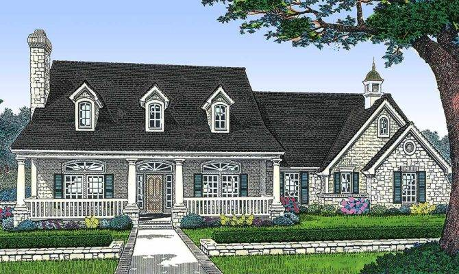 Three Bedroom House Plan Country Style