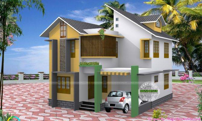 Three Bedroom Small Home Cents Kerala Design