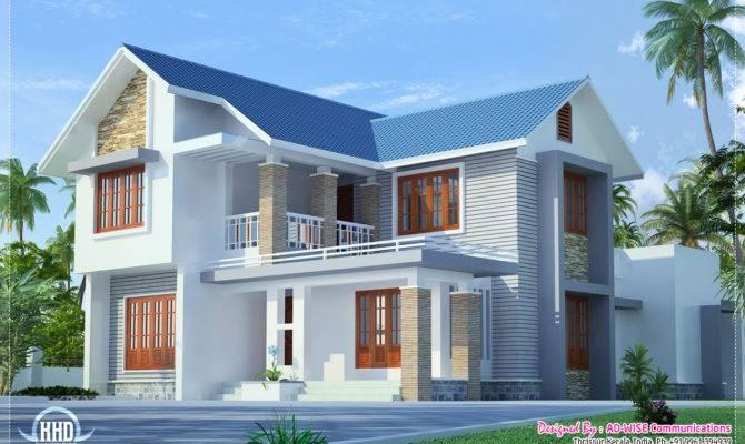 Three Fantastic House Exterior Designs Interior Decor Kerala
