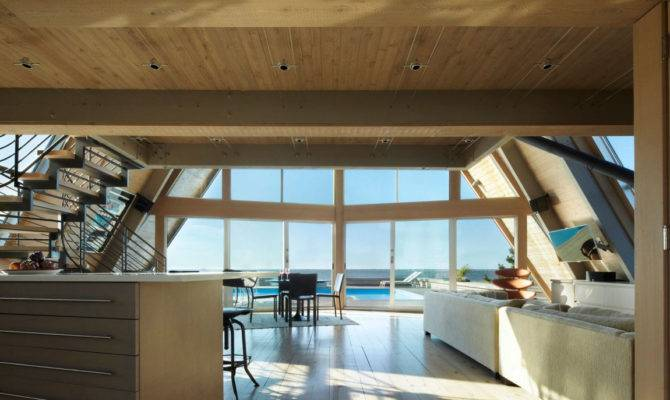 Three Storey Frame Vacation Beach House Idesignarch Interior