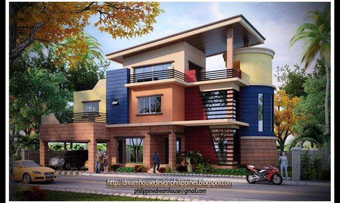Three Storey House Design