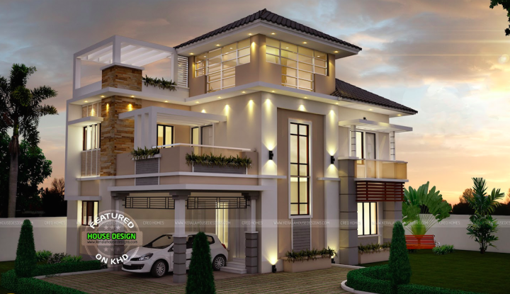 Three Story House Design Home Style House Plans 145916