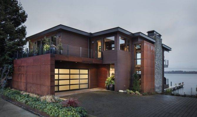 Three Story Kirkland Home Blends Northwest Warmth