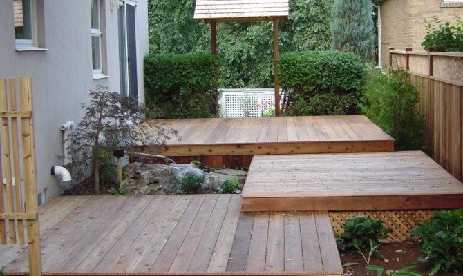 Tiered Deck Outdoor Living Pinterest