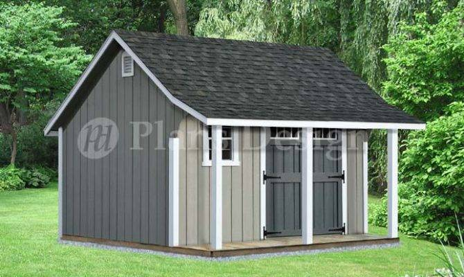 Tifany Blog Look Shed Plans Porch