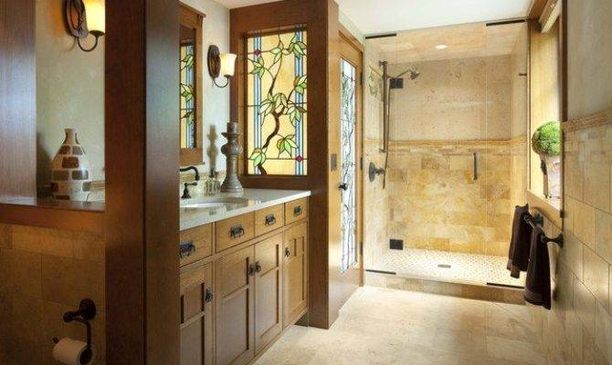 Tile Style Roots Craftsman Bathroom