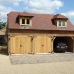 Timber Frame Garage Plans Construction