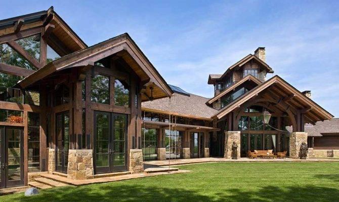 Timber Frame Home Design Log
