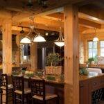 Timber Frame Home Kitchen Designs Design Style