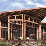 Timber Frame House Plans Cascade Modern