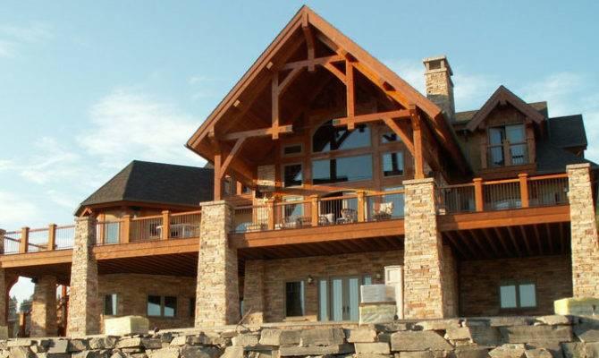 Timber Frame House Plans Home Deco