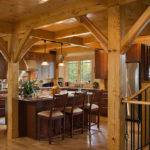 Timber Frame Kitchen Contemporary New York