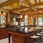 Timber Frame Kitchen Designs Traditional New