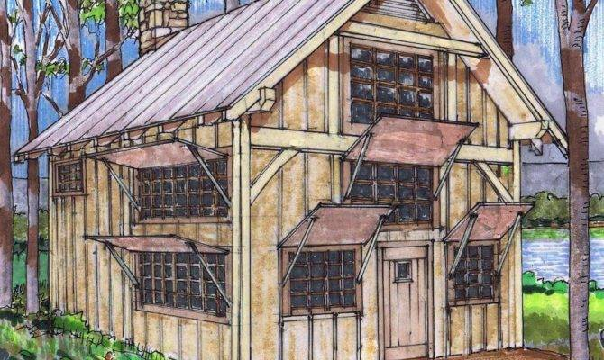 Timber Frame Plan Loft