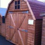 Timber Wooden Garden Sheds Dutch Barn