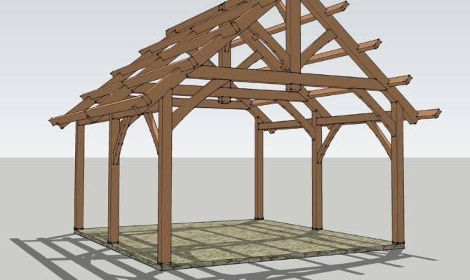 Timbered Pavilion Timber Frame