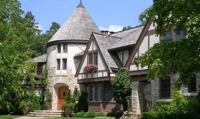 Timeless Tudor Estate Traditional Exterior