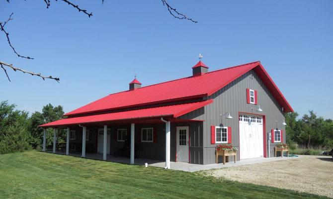Tin Shed House Design Metal Pole Barn Building Ideas