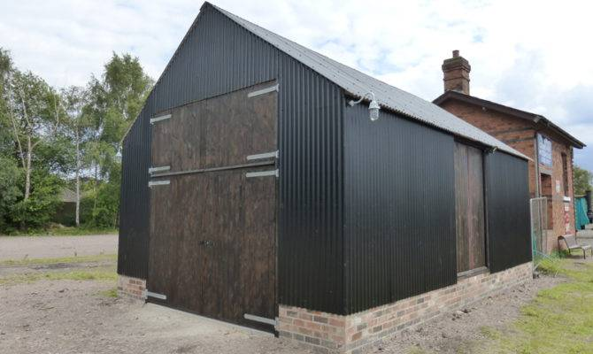 Tin Shed Rises Again Great Central Railway
