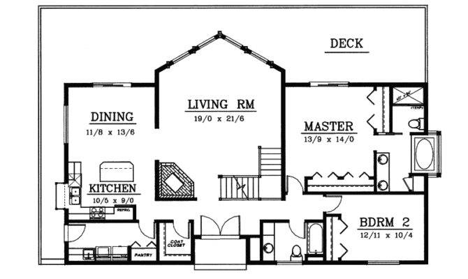 Tinsley Frame Vacation Home Plan House Plans More