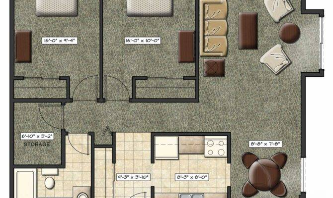 Tiny Apartment Layout Home Design