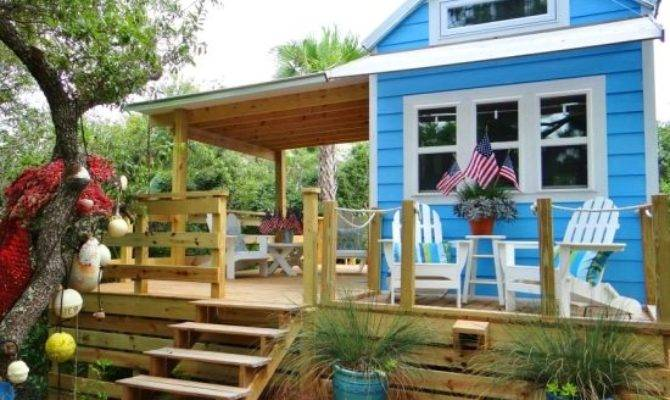 Tiny Beach House Cottage Living George Island