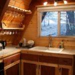Tiny Cabin California Camouflaged Woods