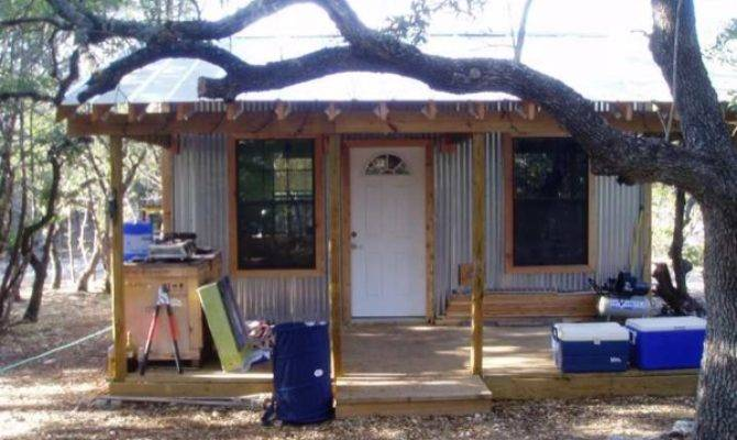 Tiny Cabin Foundation Mortgage Living