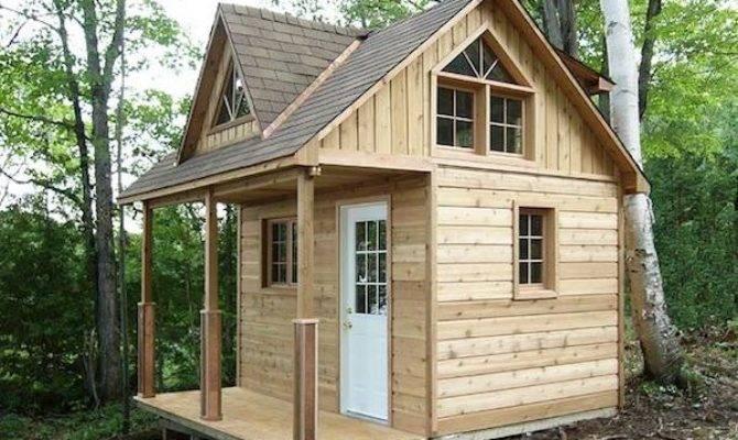 Tiny Cabin Kit Loft House Pins