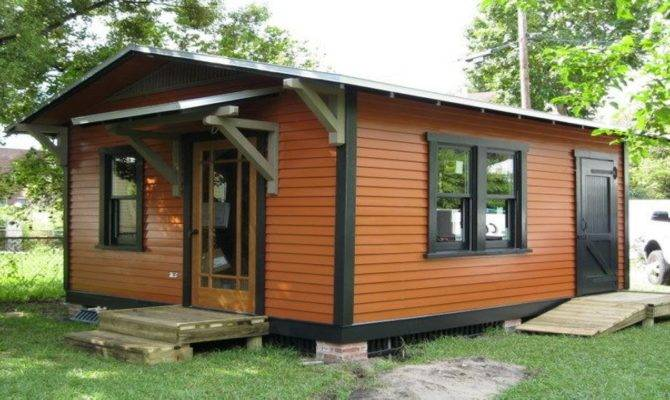 Tiny Guest Cottage House Wheels Plans