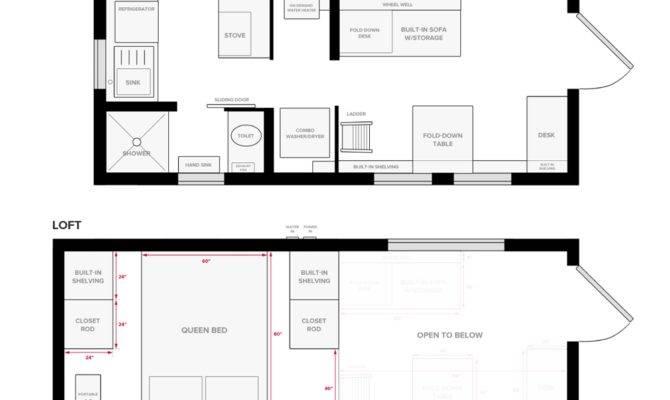 Tiny Home Floor Plans Elegant House Wheels