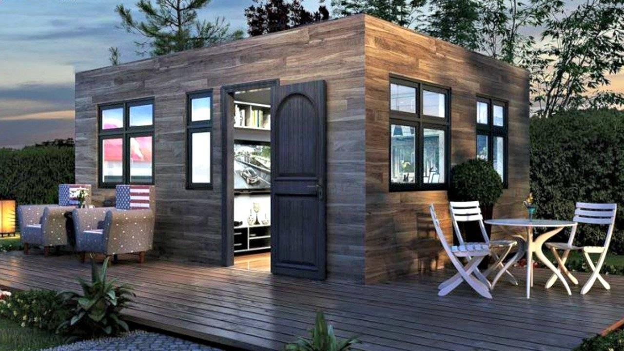 Tiny Home Modern Modular Luxury Small House Design Ideas House Plans 119725