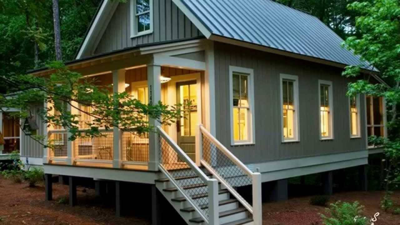 Tiny Homes Porches Small Houses Youtube House Plans 25443