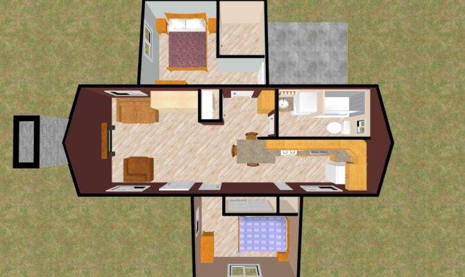 Tiny House Bedroom Real Estate