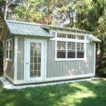 Tiny House Cabin Folk Art Collection Studio