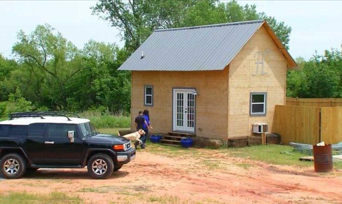 Tiny House Oklahoma Cost Build