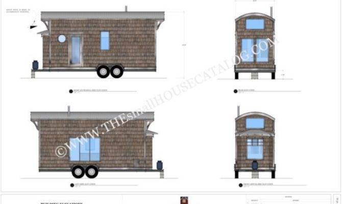 Tiny House Plans Bohemian Wheels