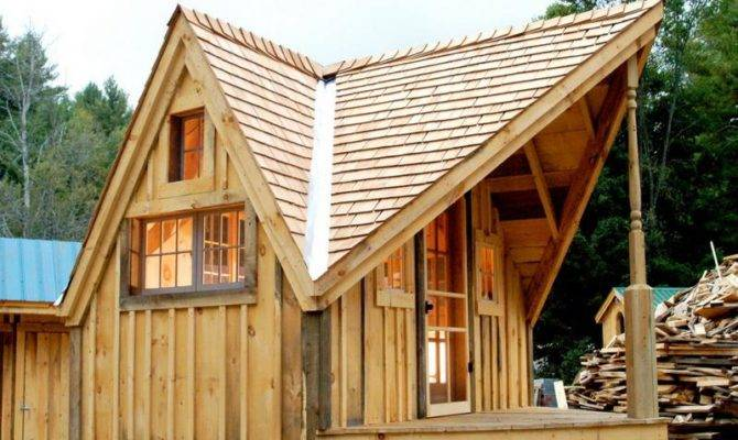 Tiny House Plans Camp Cabin Shack Shelter