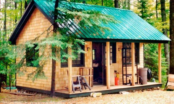 Tiny House Plans Hut Cottage