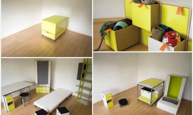 Tiny House Space Saving Ideas Ikea Kura Bed Hack Garden