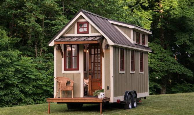 Tiny House Timbercraft Homes Cozy Modern Home Wheels