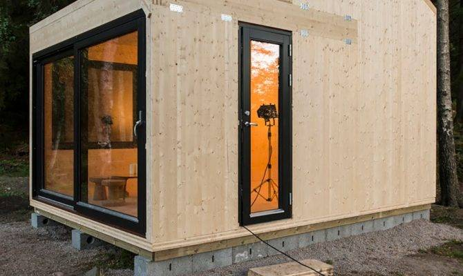 Tiny House Town Woody Norwegian Cabin